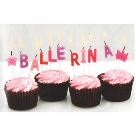 "Bougies ""Ballerina"""