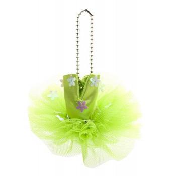 Mini-tutu porte-clés Katz vert