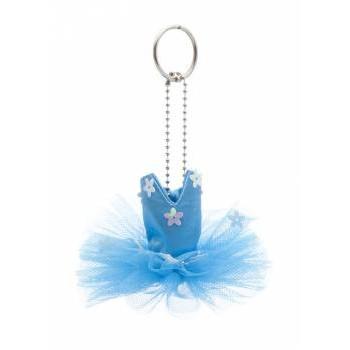 Mini-tutu porte-clés Katz turquoise