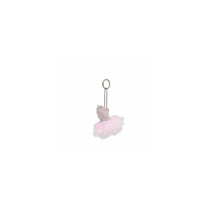 Mini-tutu porte-clés Katz rose