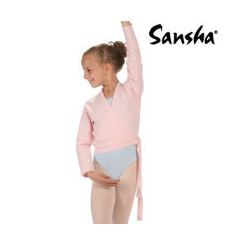 Cache-coeur Sansha Candy rose