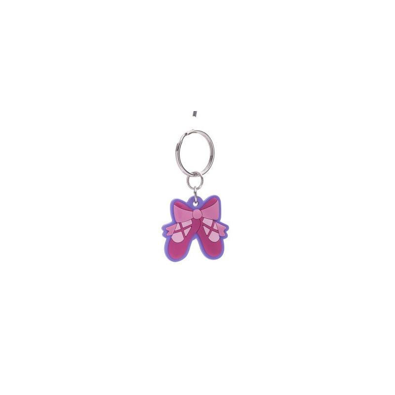 Porte-clés Katz chaussons roses