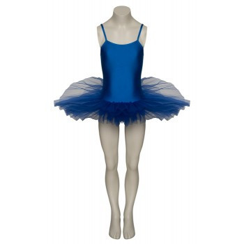 Tutu court Katz bleu royal