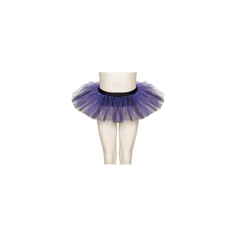 Bas de tutu noir/violet