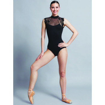 Justaucorps Ballet Rosa Bérénice noir