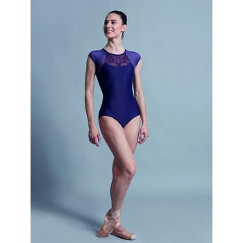 Justaucorps Ballet Rosa Gladys marine