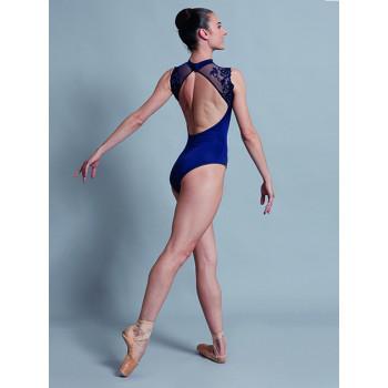 Justaucorps Ballet Rosa Bérénice marine