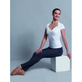 Top Ballet Rosa Momo blanc