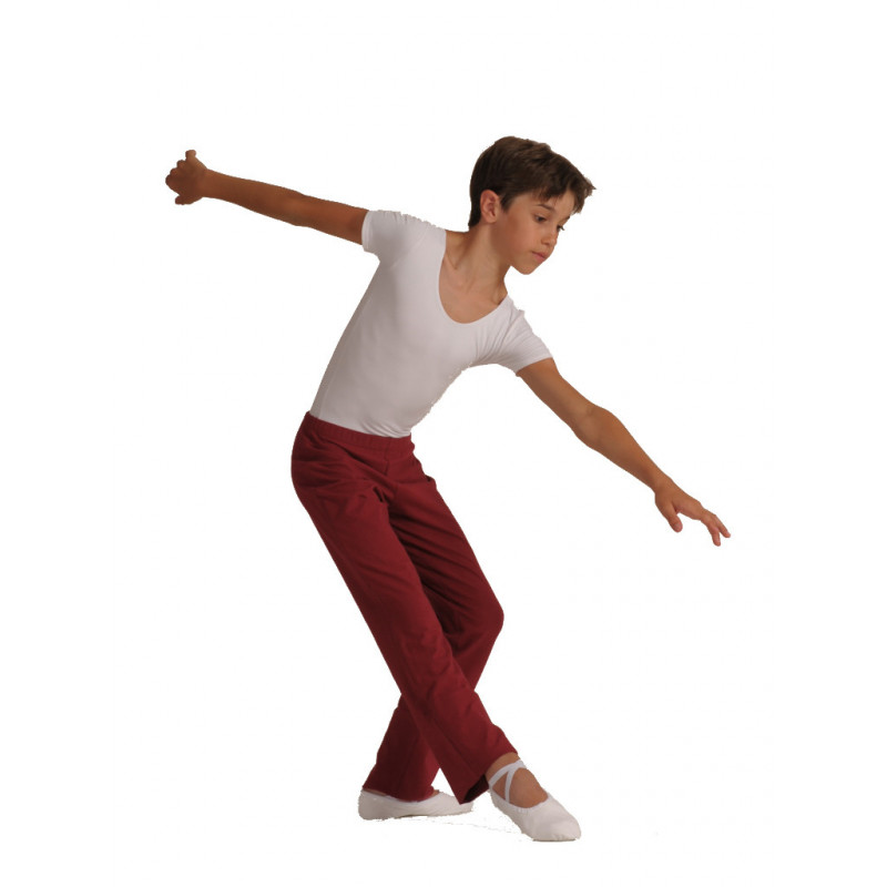Pantalon Chigaco bordeaux