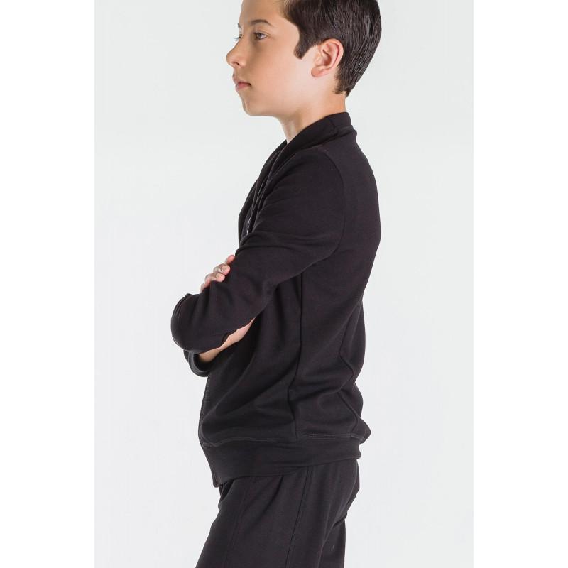 Veste d'échauffement Wear Moi Malone noir