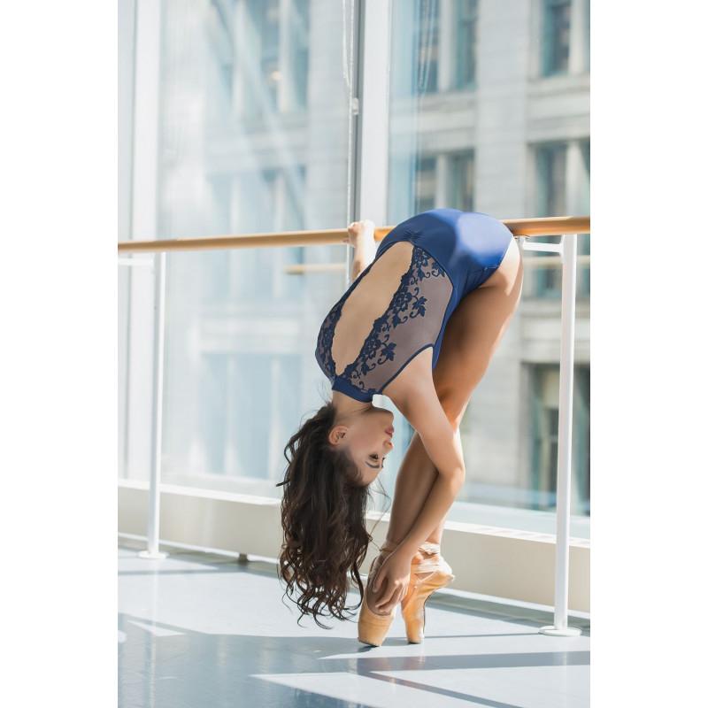 Justaucorps Ballet Rosa Amélie marine