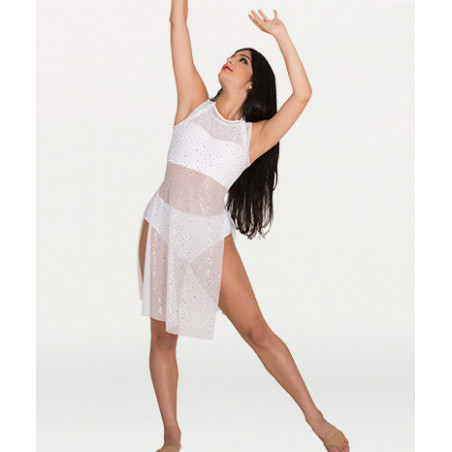 Robe/tunique Body Wrappers TW625 blanc