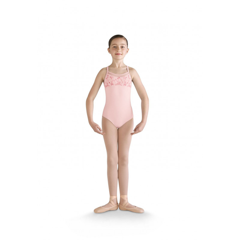 Justaucorps enfant Mirella M1210 rose