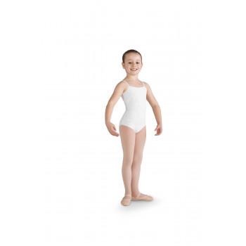 Justaucorps enfant Bloch Bonita blanc