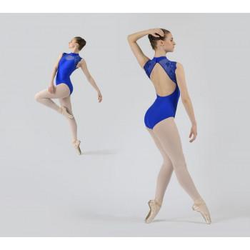 Justaucorps Ballet Rosa Bérénice bleu royal