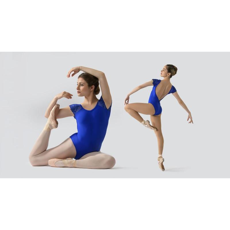 Justaucorps Ballet Rosa Joséphine bleu royal