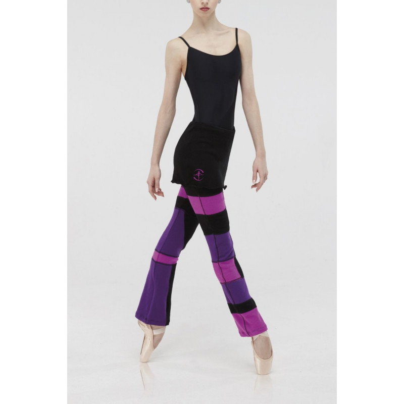 Pantalon Wear Moi Syrma black/amethiste/byzantine