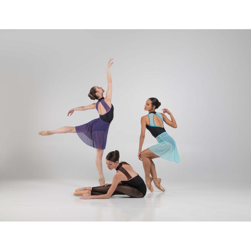 Jupette Ballet Rosa Christiane prune et noir