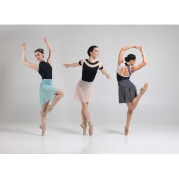 Jupette Ballet Rosa Christiane acqua, poudré et gris