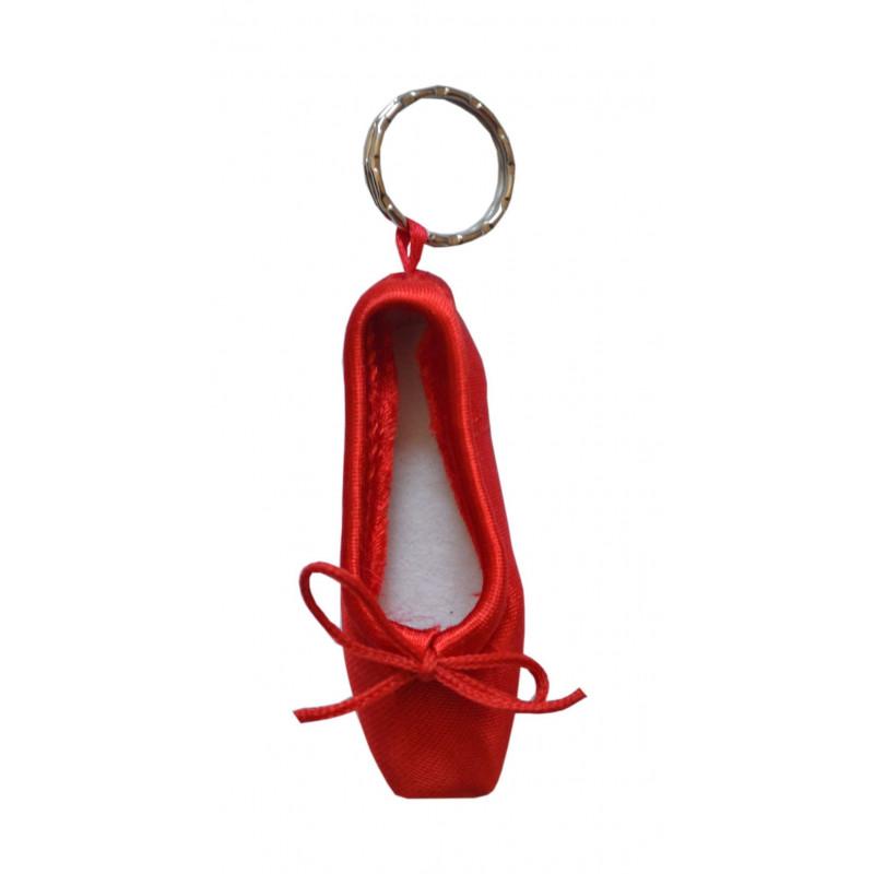 Porte-clé mini-pointe Sansha rouge