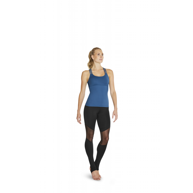 Top Bloch Dorine bleu