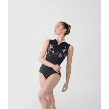 Justaucorps Ballet Rosa Ciaravola rose