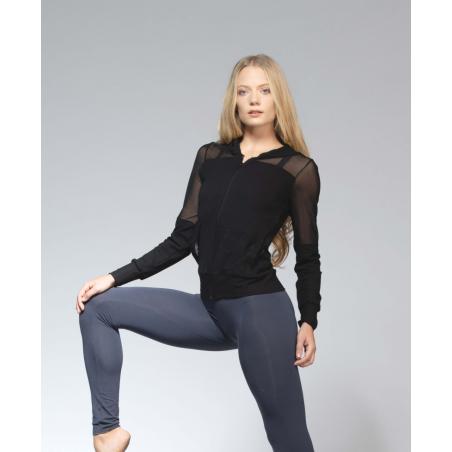 Veste Ballet Rosa Midori noir