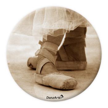 Miroir de poche DanzArte pointe shoes