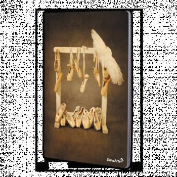 Cahier  A4 DanzArte hanging pointes