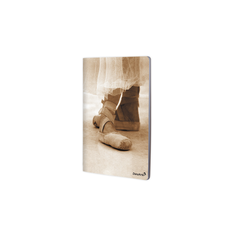 Cahier  A4 DanzArte pointe shoes