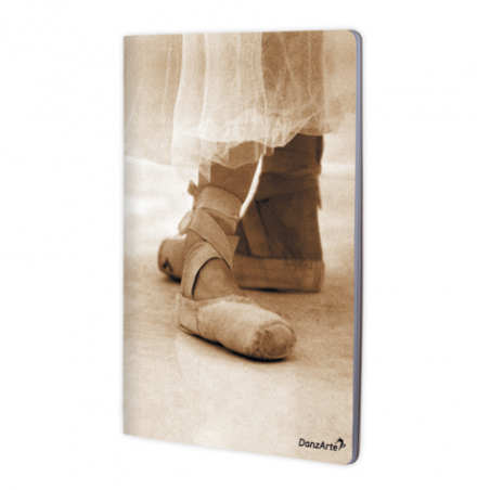 Cahier  A4 DanzArte pointe shoes