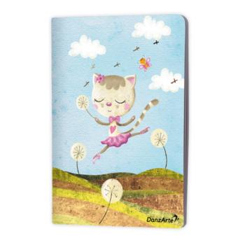 Cahier  A5 Danzarte dancing cat