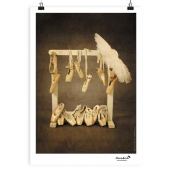 Affiche A3 DanzArte hanging pointes