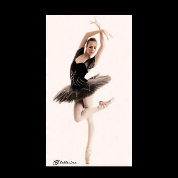 Poster B Ballerina tutu noir