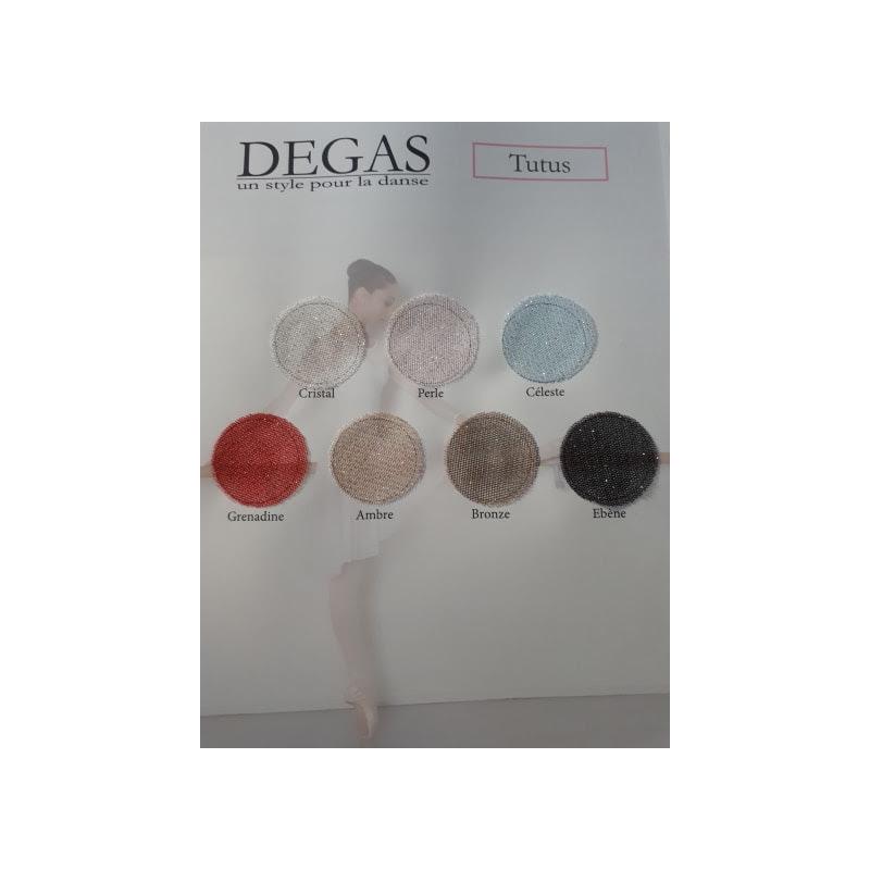Bas de tutu Degas pailletté couleurs