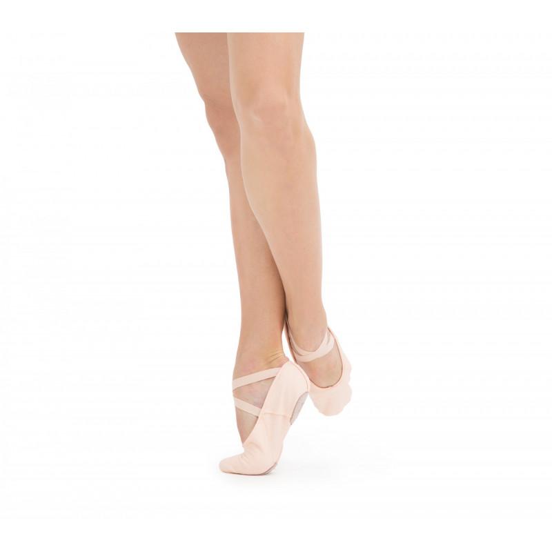 gamme exceptionnelle de styles lacer dans emballage élégant et robuste Demi-pointes toile Repetto T225, le chausson de danse classique idéal