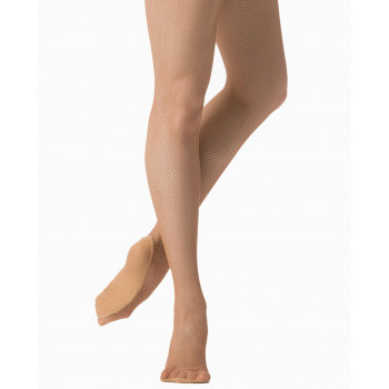 Collants résille Danskin light toast