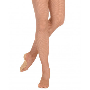 Collants résille Danskin suntan