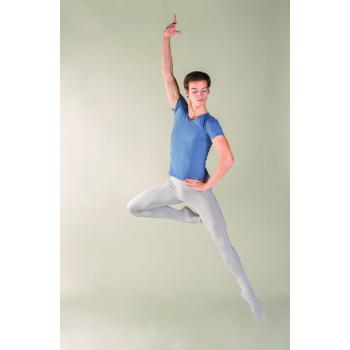 Tee-shirt homme Ballet Rosa Jean  indigo ou encre bleu, idéal pour les cours