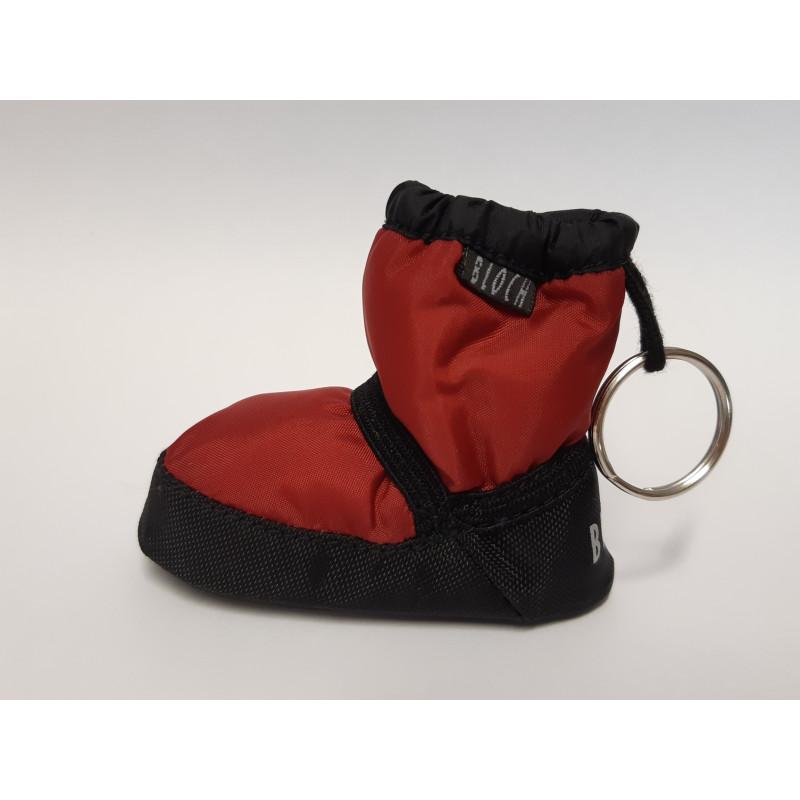 Porte-clé Bloch booties rouge