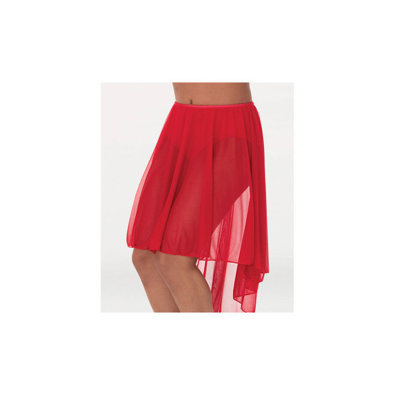 Jupe voile BWP 989 rouge
