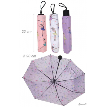 Parapluie ballerines rose