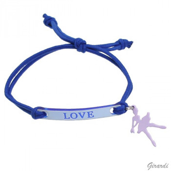 Bracelet Love bleu