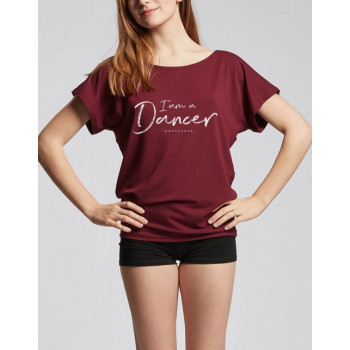 Tee-shirt Temps Danse Ava I am