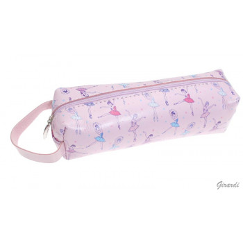 Trousse ballerines rose