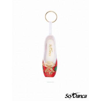 Porte-clefs pointe de Noël...