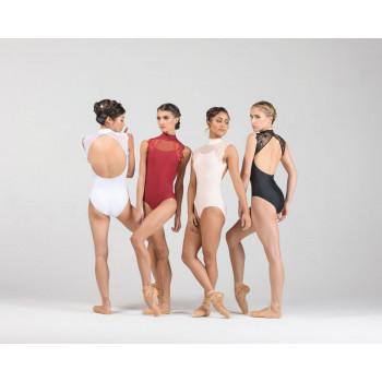 Justaucorps Ballet Rosa Bérénice, une tunique sophistiquée