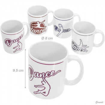 """Mug danseur """"Dance"""" cabriole"""