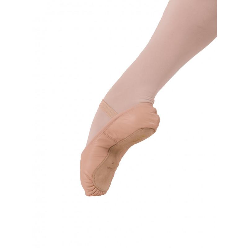Demi-pointes Bloch cuir