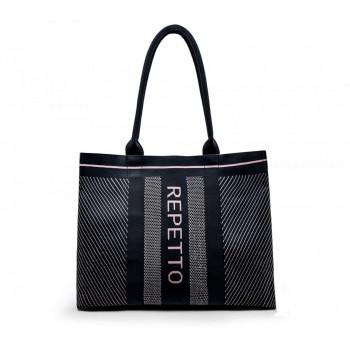 Grand sac cabas Repetto noir